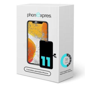 iPhone 11 caja reparación phonexpres 2021