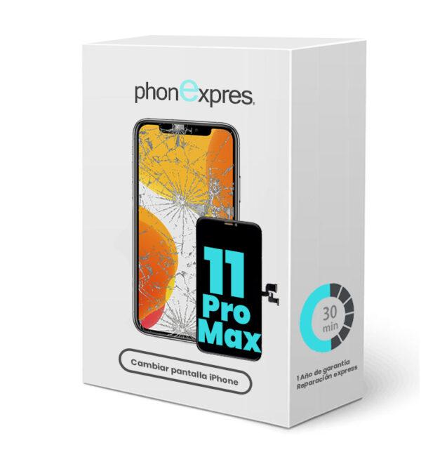 iPhone 11 Pro Max caja reparación phonexpres 2021 phonexpres